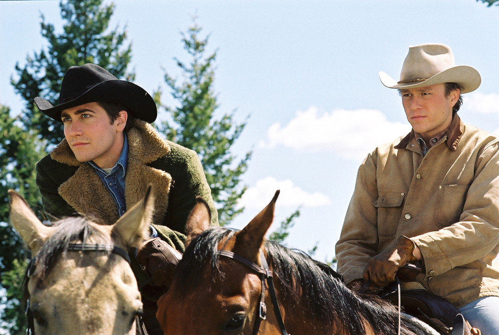Brokeback Mountain, Jake Gyllenhaal, Heath Ledger