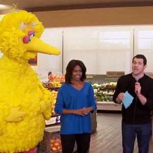 Billy Eichner, Michelle Obama, Big Bird