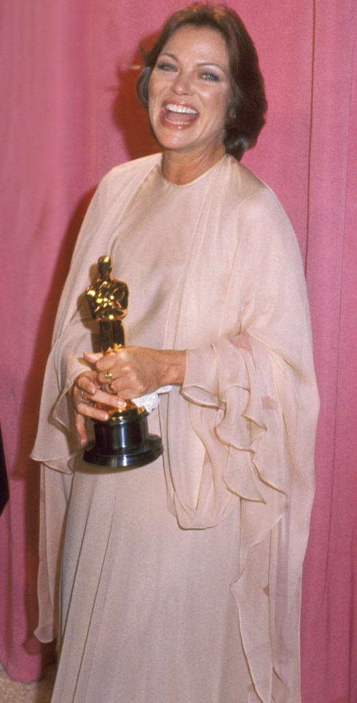 Louise Fletcher From 50 Years Of Oscar Dresses Best