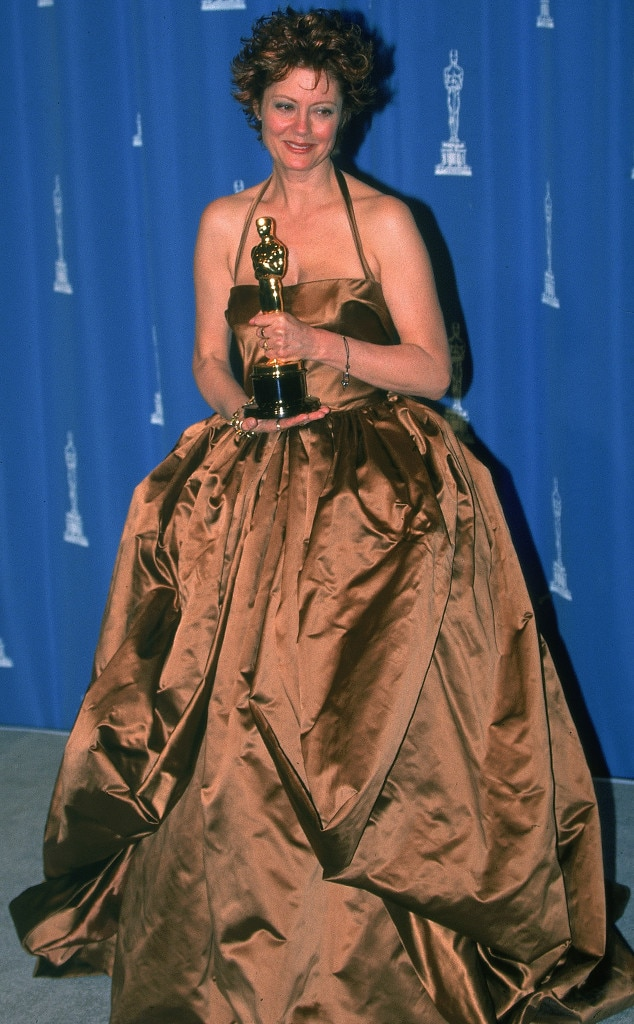 susan sarandon from 50 years of oscar dresses best