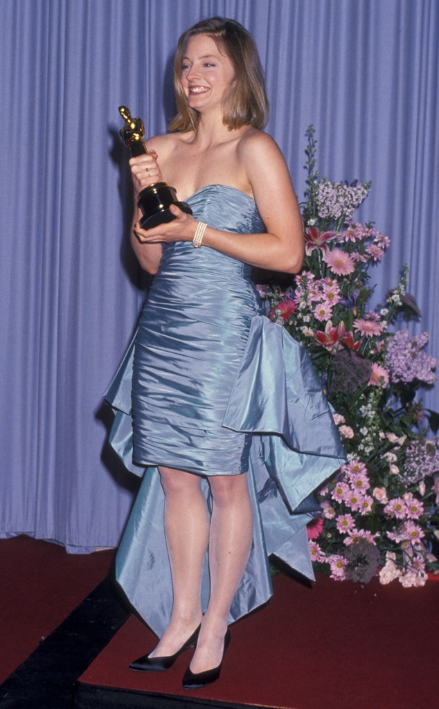 Jodie Foster from 50 Years of Oscar Dresses: Best Actress ...