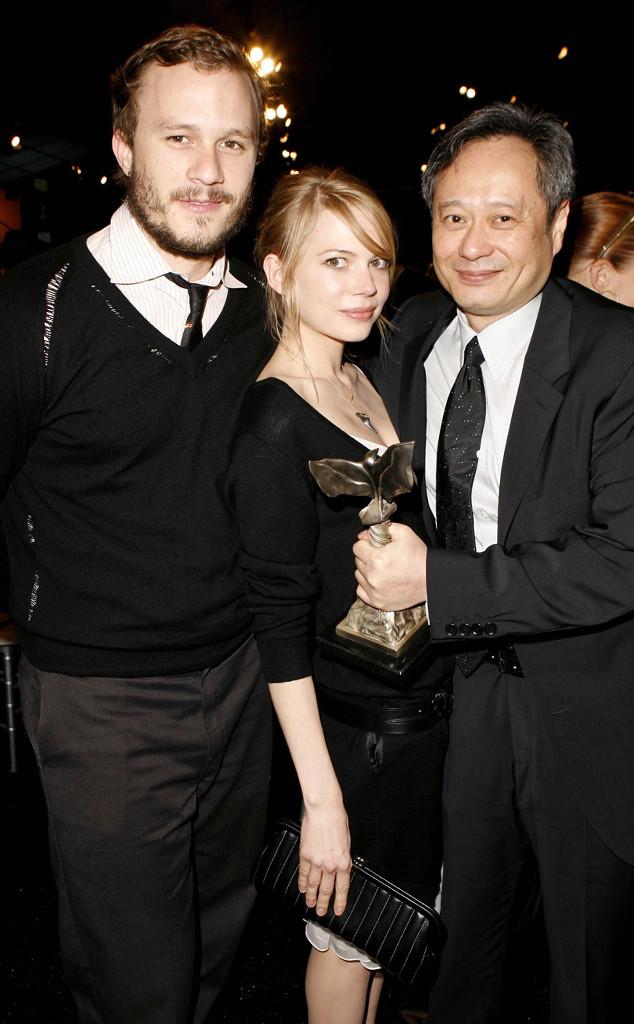 Heath Ledger, Michelle Williams, Ang Lee