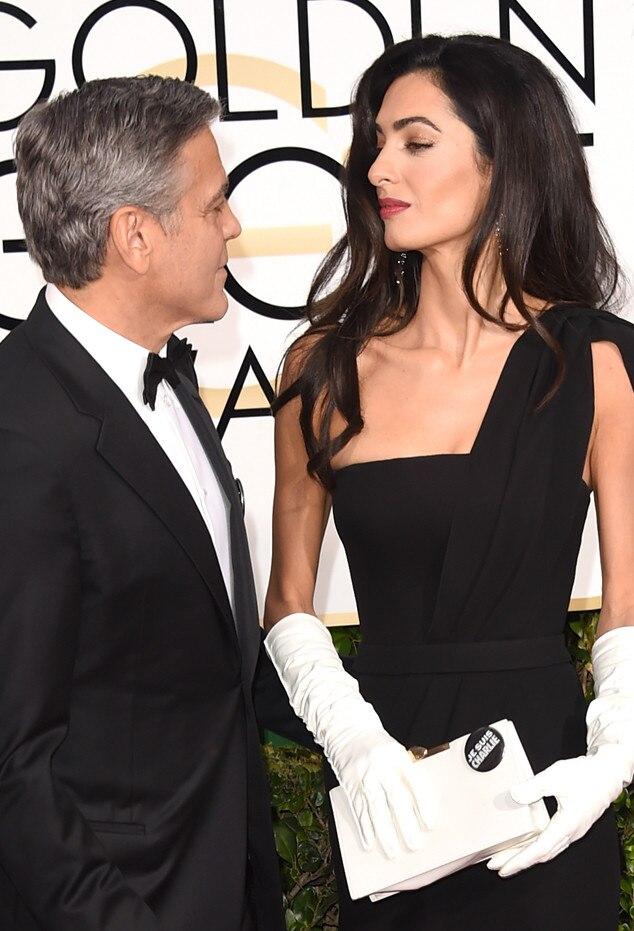 George Clooney, Amal Clooney, Golden Globes
