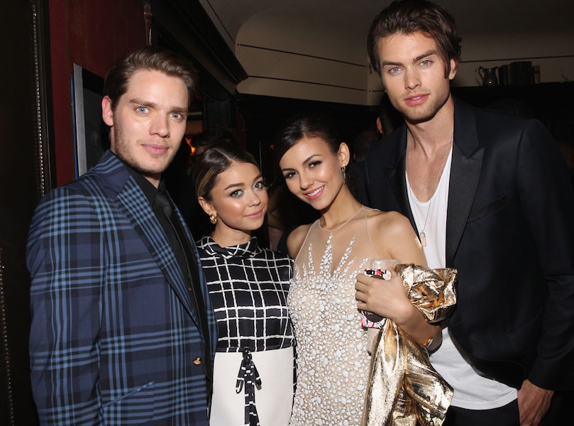 dominic sherwood sarah hyland victoria justice amp pierson