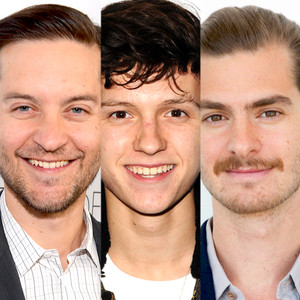 Tom Holland, Andrew Garfield, Tobey Maguire