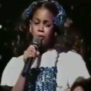 Beyonce, Child, Video, Singing