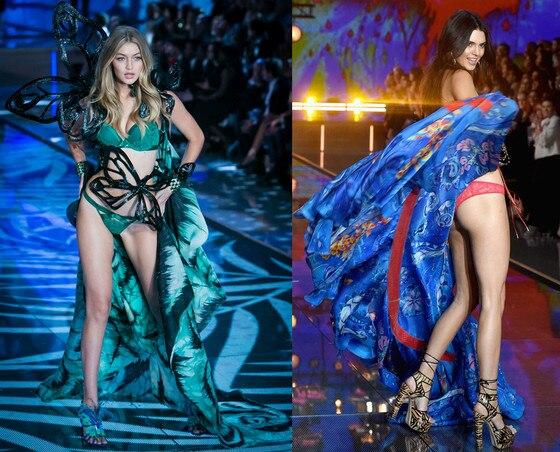 Victoria's Secret Fashion Show, Gigi Hadid, Kendall Jenner