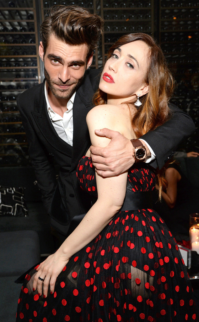 Jon Kortajarena & Chiara Francin from 2015 Oscars: Party ...