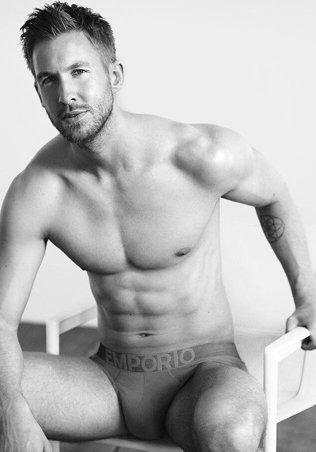 Calvin Harris, EMPORIO ARMANI, Underwear