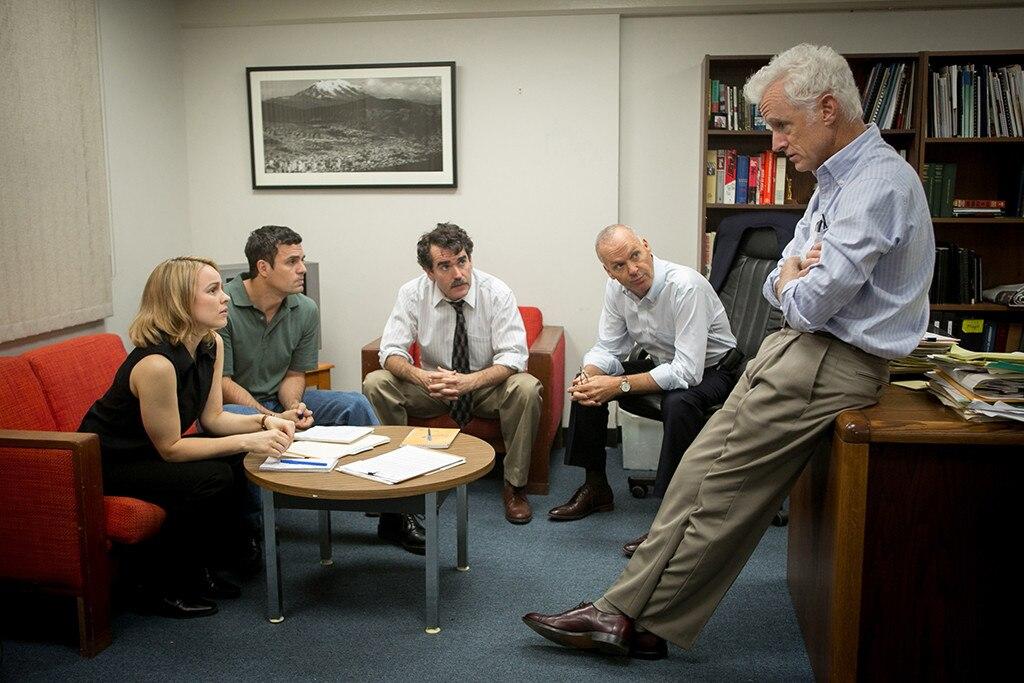 Spotlight, Mark Ruffalo, Rachel McAdams, Michael Keaton, John Slattery
