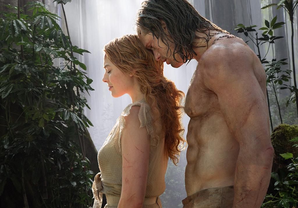 Alexander Skarsgard, Margot Robbie, Tarzan