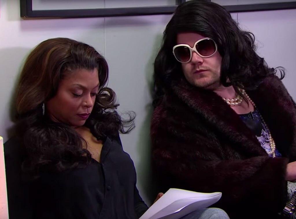Taraji P. Henson, James Corden, Late Late Show