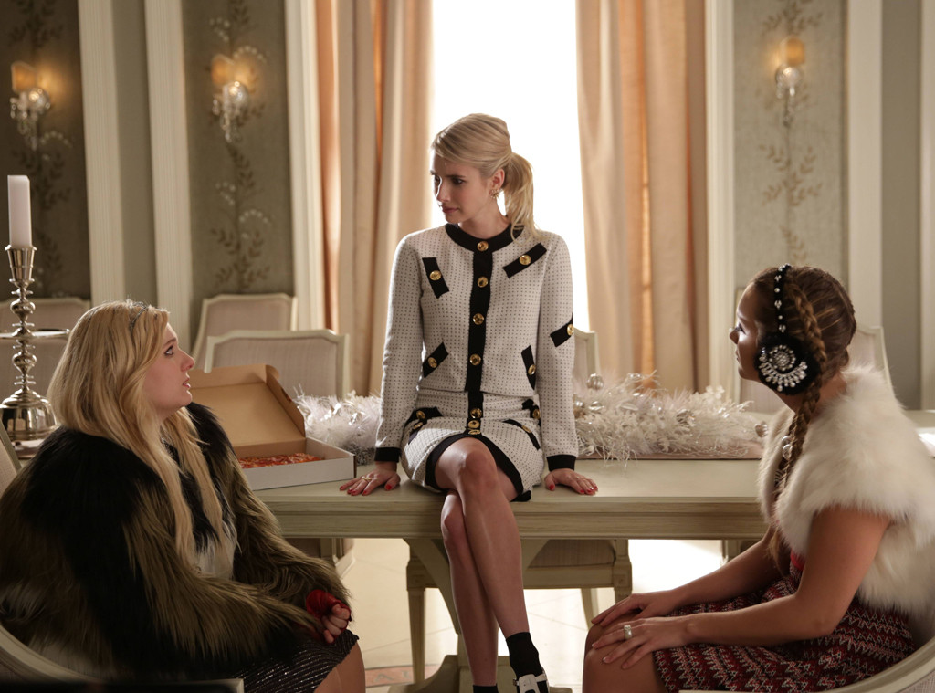 Abigail Breslin, Emma Roberts, Billie Lourd, Scream Queens