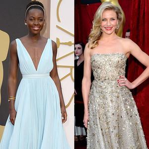 Oscars Best Dressed Ever, Lupita Nyong'o, Cameron Diaz