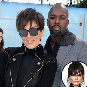 Kris Jenner, Corey Gamble, Kendall Jenner