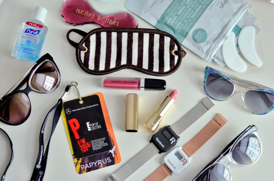 E! Style Collective, NYFW Survival Bag