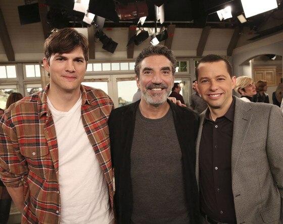 Two and a Half Men, Ashton Kutcher, Chuck Lorre, Jon Cryer