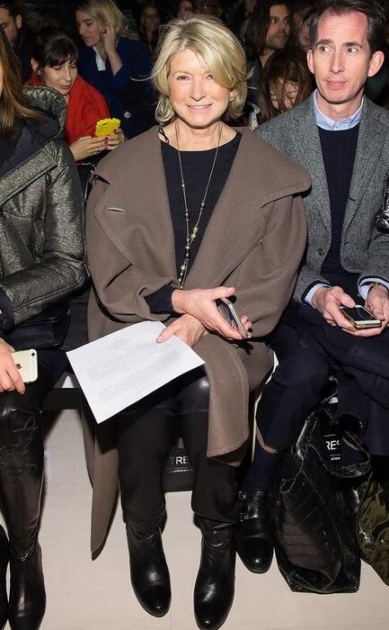Martha Stewart, NYFW