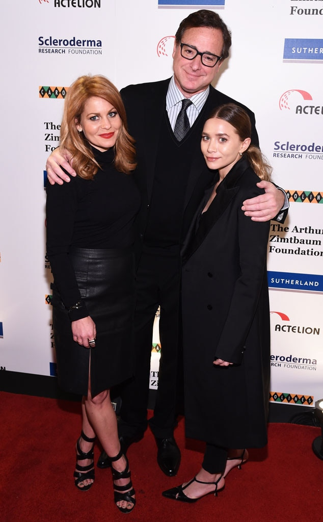 Candace Cameron Bure, Bob Saget, Ashley Olsen