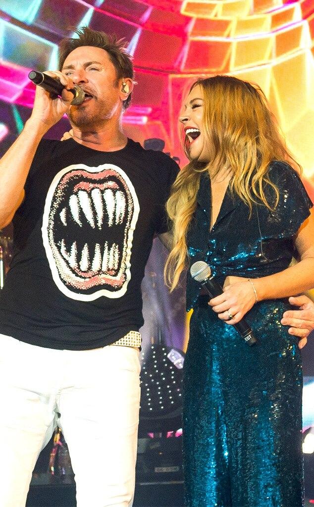 Lindsay Lohan, Simon Le Bon, Duran Duran