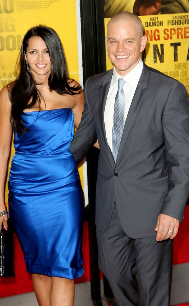 Luciana Barroso, Matt Damon