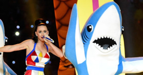 Katy Perry S Super Bowl Sharks Get Their Own Espn