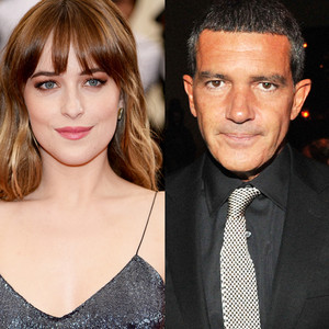 Antonio Banderas, Dakota Johnson