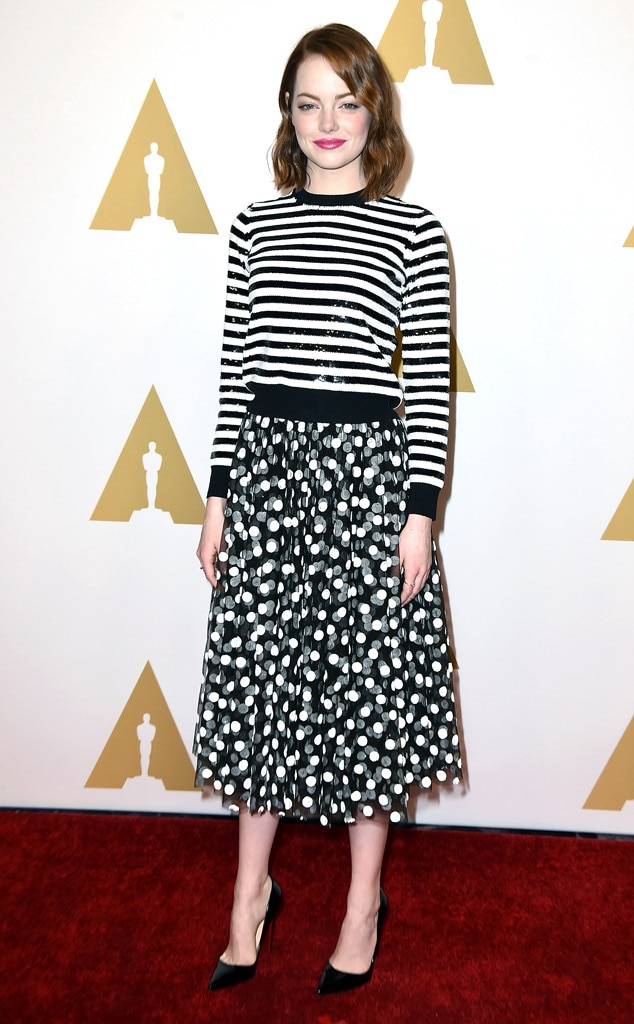 Circles & Stripes from Emma Stone's Best Looks