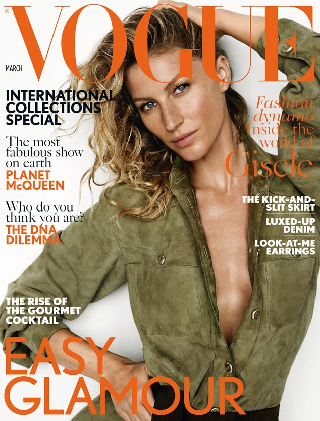 Gisele Bündchen Covers British Vogue, Says She Knew Tom ...