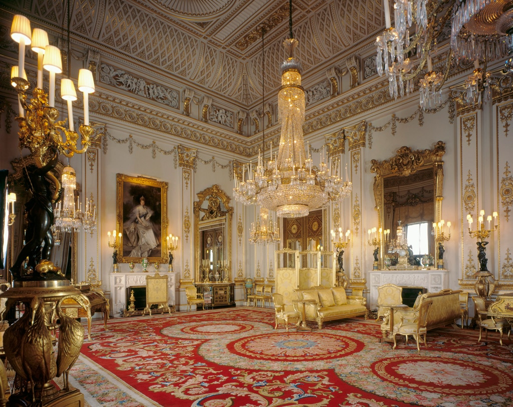 Buckingham Palace, Inside, Drawing Room