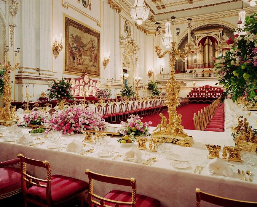 Buckingham Palace, Inside, Ballroom