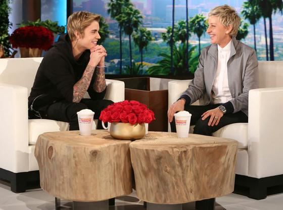 Justin Bieber, Ellen