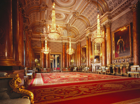 Buckingham Palace, Inside, The Blue Drawing Room