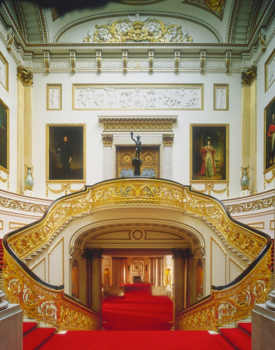Buckingham Palace, Inside, The Grand Staircase