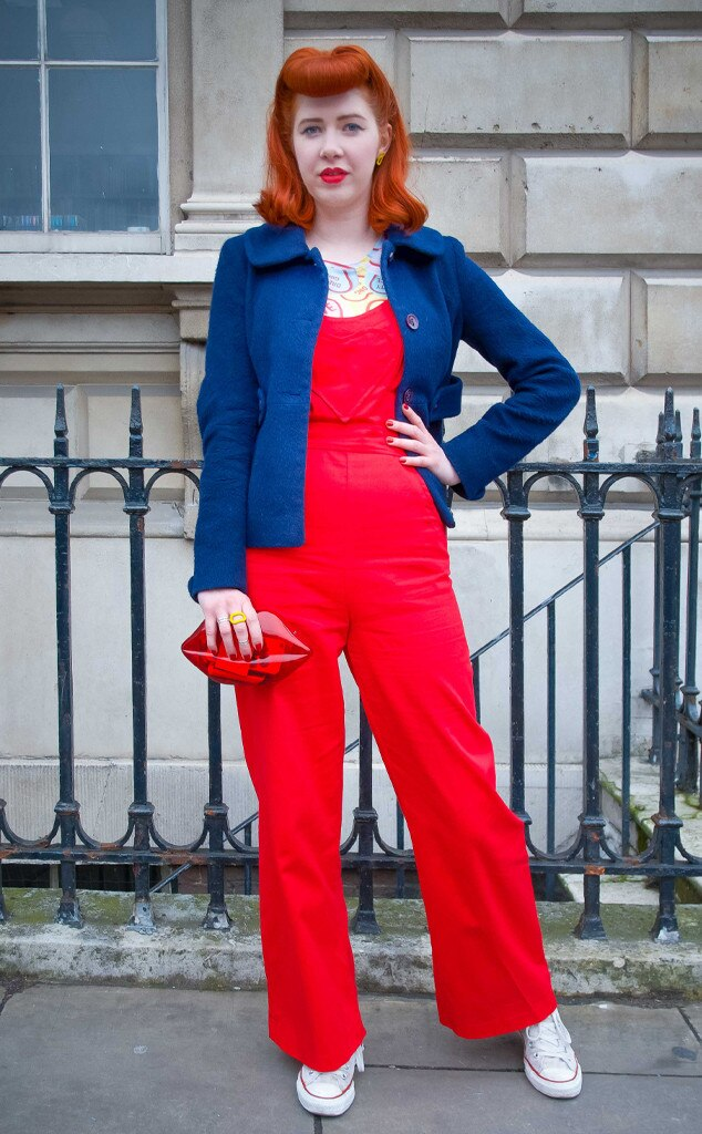 Pip Jolley From Street Style At London Fashion Week Fall 2015 E News
