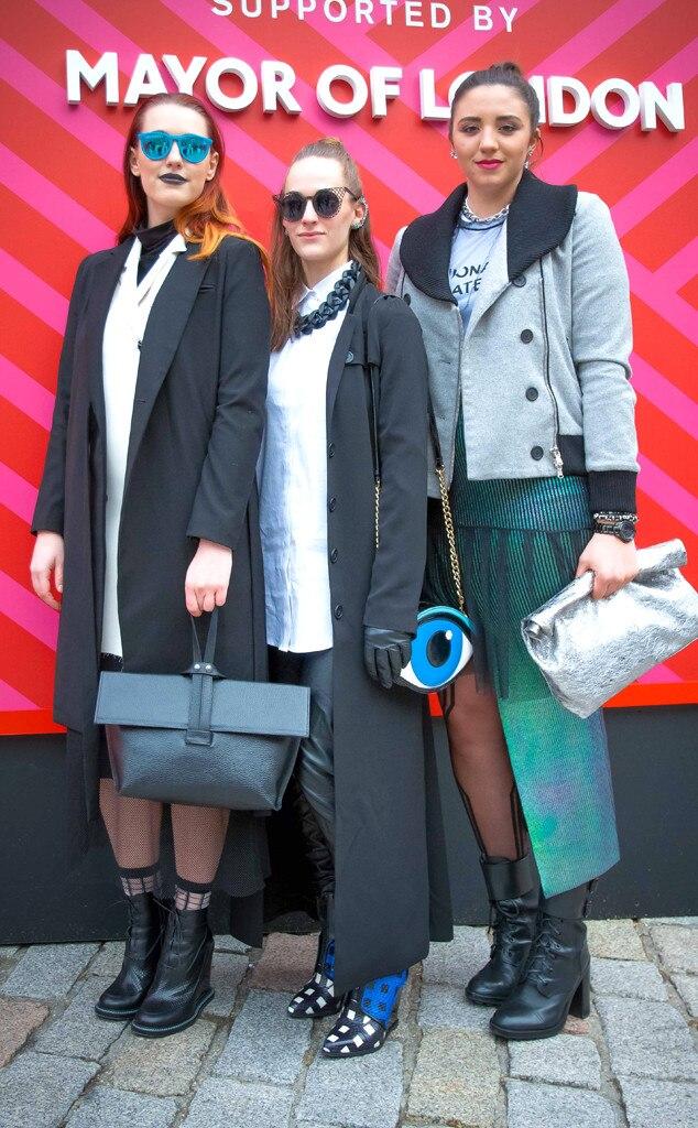 Samantha Boersma Bri Stein Natalie Kutrumas From Street Style At London Fashion Week Fall