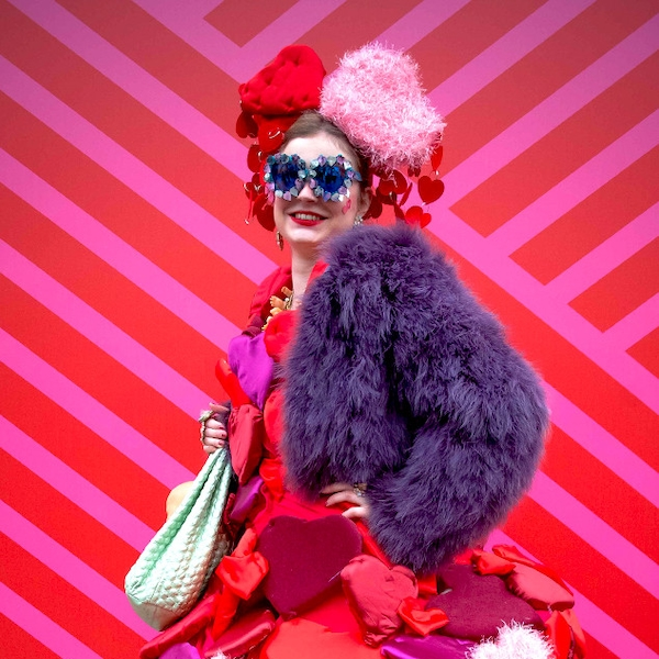 Anna-Sophie Cochevelou From Street Style At London Fashion