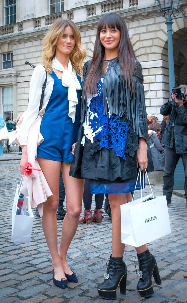 Zara Martin Jade Williams From Street Style At London Fashion Week Fall 2015 E News