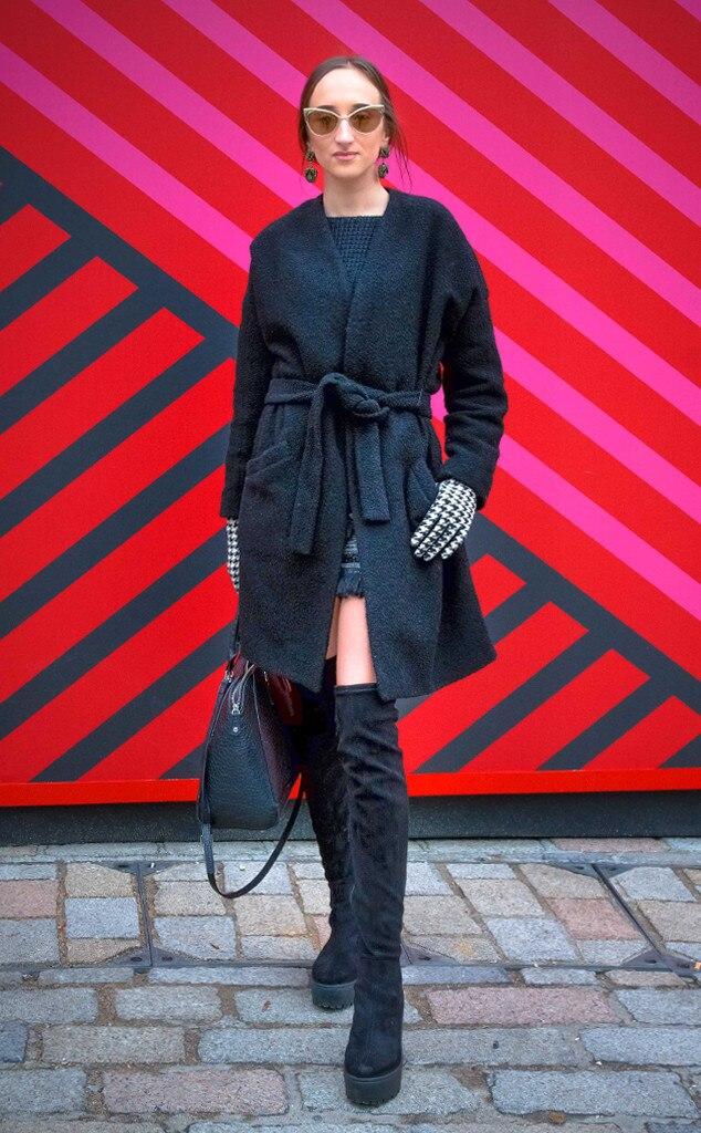 Gabriele Gzimailaite From Street Style At London Fashion Week Fall 2015 E News Uk