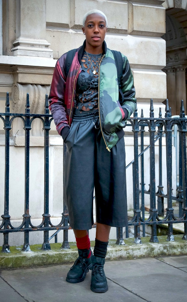 Sophie Milner From Street Style At London Fashion Week Fall 2015 E News
