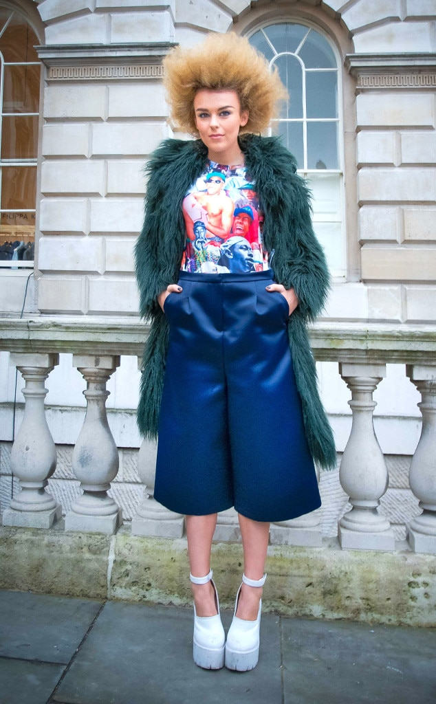 Tallia Storm From Street Style At London Fashion Week Fall 2015 E News