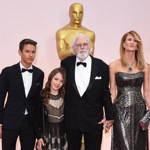 Laura Dern, Bruce Dern, 2015 Academy Awards