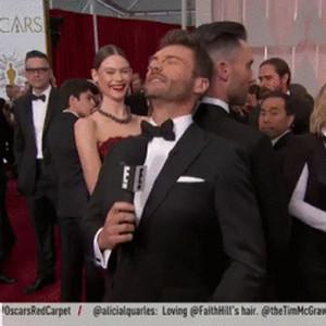 Ryan Seacrest, Adam Levine, Head Bump GIF
