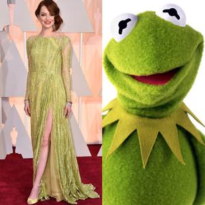 Emma Stone, 2015 Academy Awards, Muppets