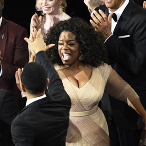 Oprah Winfrey, David Oyelowo, Common, John Legend, 2015 Academy Awards, Candids