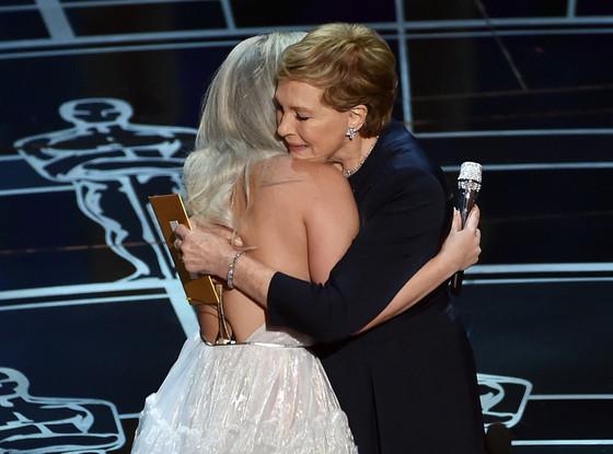 Lady Gaga, Julie Andrews, Oscars