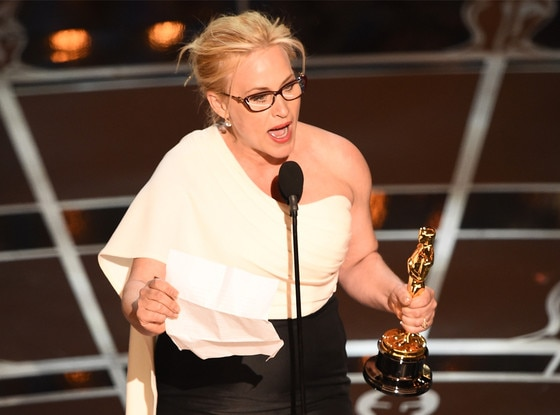 Patricia Arquette, 2015 Academy Awards, Winner