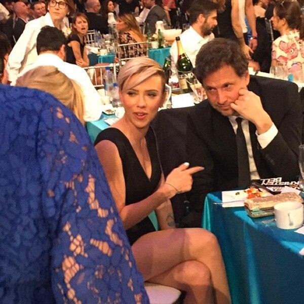 Marc Malkin's Instagrams Scarlett Johansson Instagram