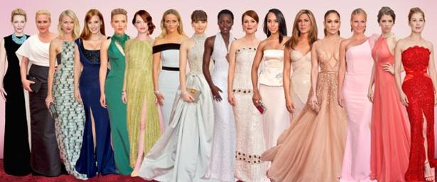 2015 Academy Awards, Oscar Dresses