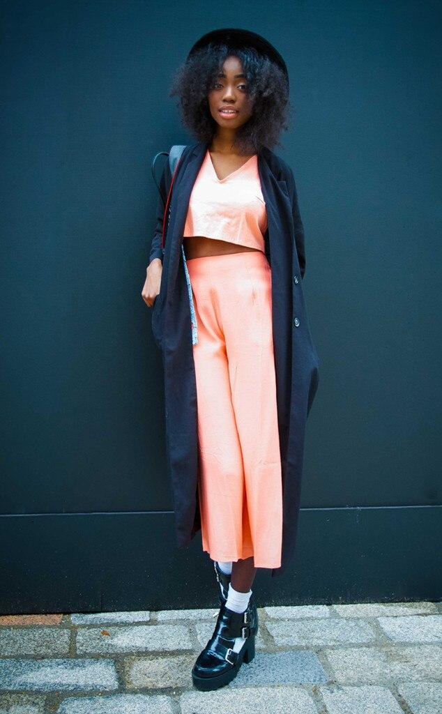 Yuuka From Street Style At London Fashion Week Fall 2015 E News